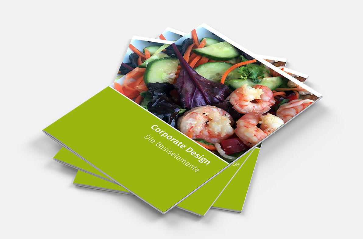 Bild zeigt Beispiel für Corporate Design Manual