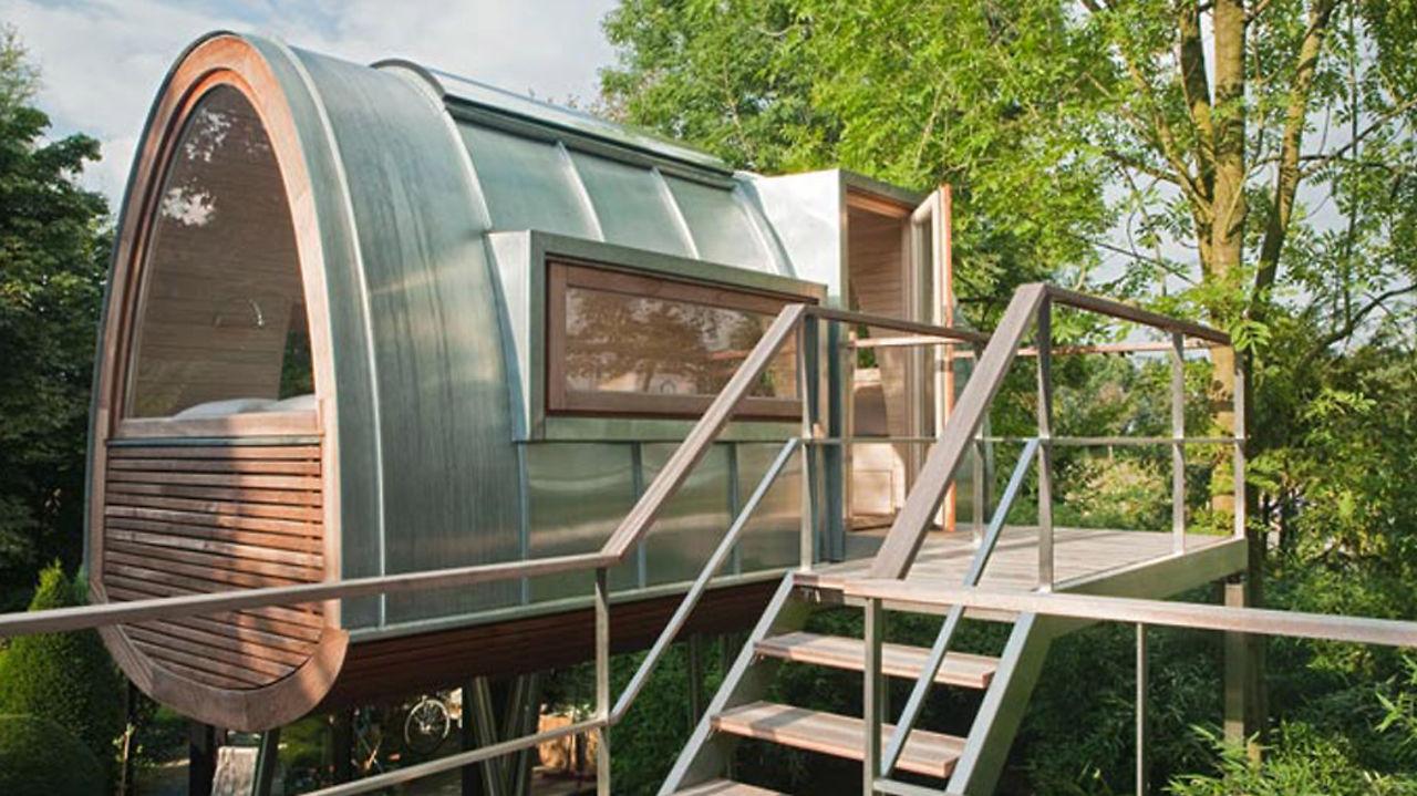 Bild zeigt Baumhaus von baumraum